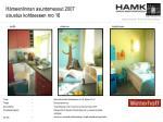 h meenlinnan asuntomessut 2007 sisustus kohteeseen nro 16