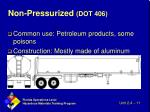 non pressurized dot 406