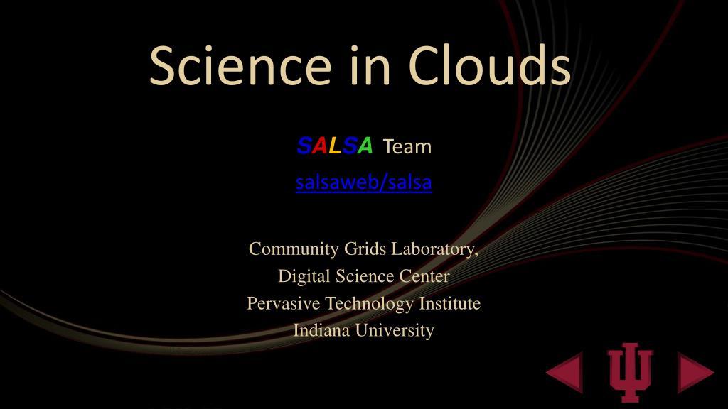 science in clouds l.