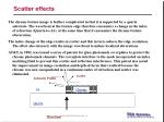 scatter effects