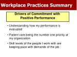 workplace practices summary