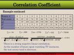 correlation coefficient11