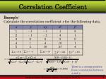 correlation coefficient8