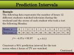 prediction intervals43