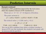 prediction intervals44