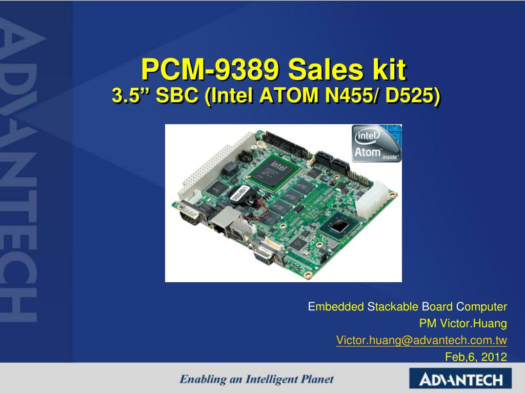 pcm 9389 sales kit 3 5 sbc intel atom n455 d525 l.