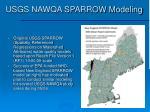 usgs nawqa sparrow modeling