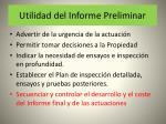 utilidad del informe preliminar34