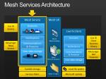 mesh services architecture