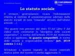 lo statuto sociale