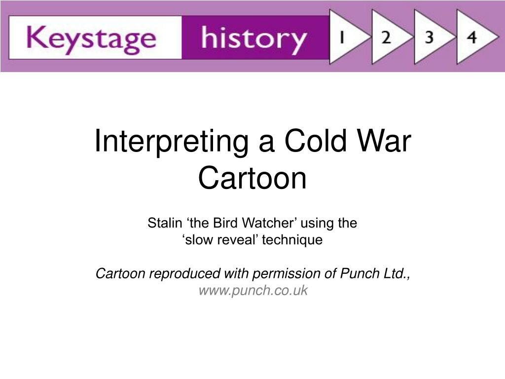 interpreting a cold war cartoon l.