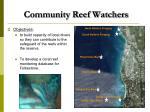 community reef watchers