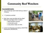 community reef watchers1