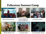 folkestone summer camp1