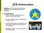 jcr ambassadors
