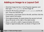 adding an image to a layout cell94