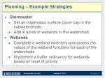 planning example strategies