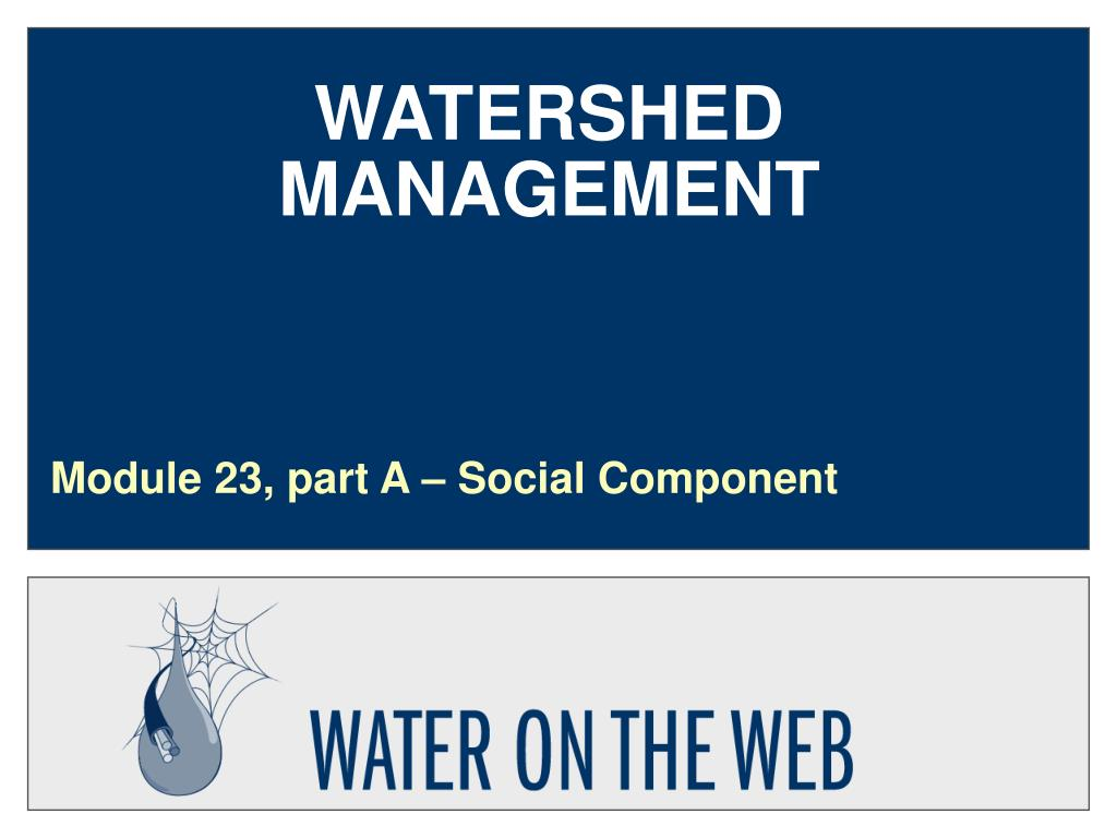 watershed management l.