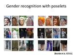 gender recognition with poselets