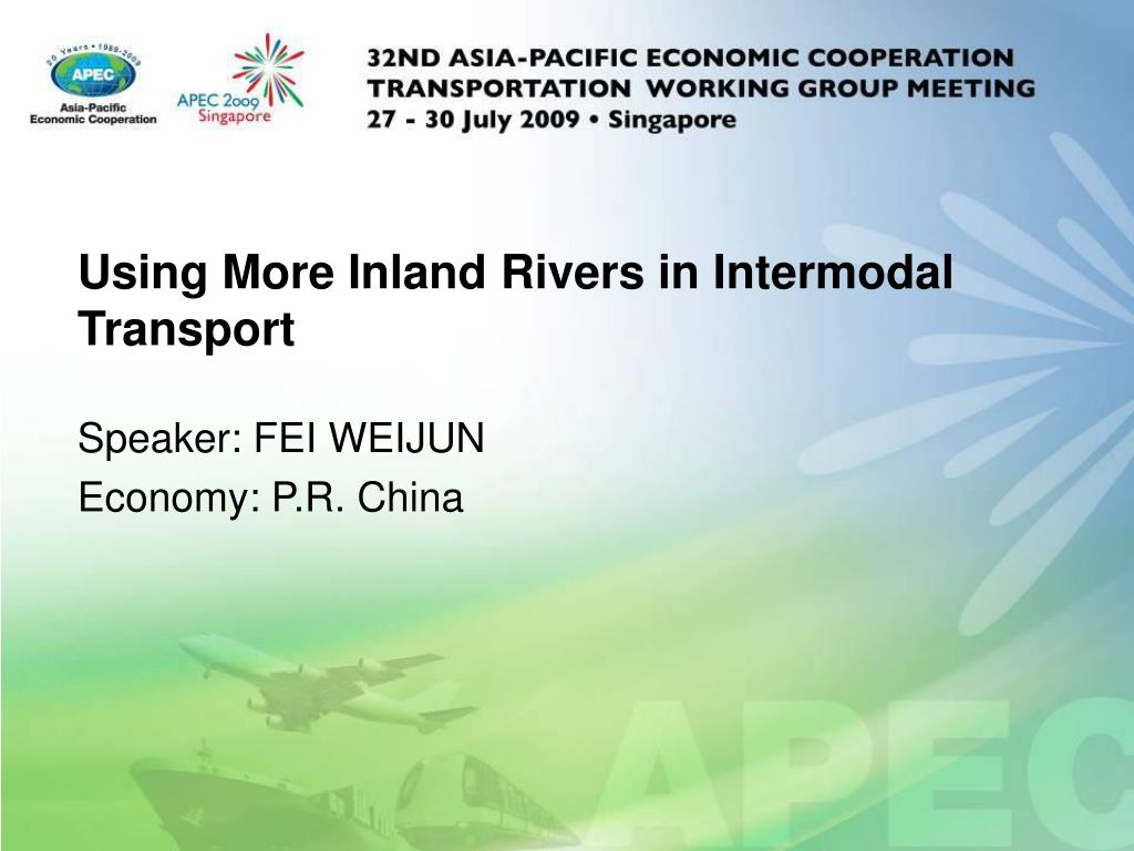 using more inland rivers in intermodal transport l.