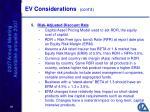 ev considerations cont d18