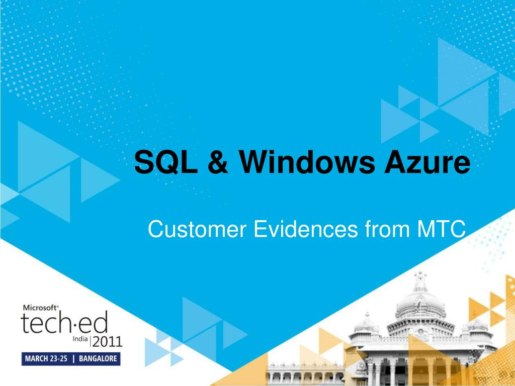 sql windows azure l.