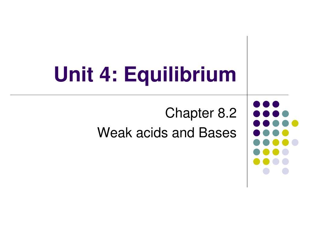 unit 4 equilibrium l.