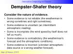 dempster shafer theory19