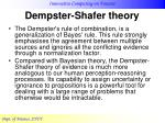 dempster shafer theory25