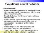 evolutional neural network13