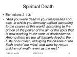 spiritual death41