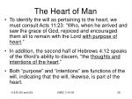 the heart of man28