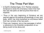 the three part man15