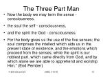 the three part man18
