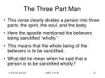 the three part man22