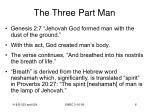 the three part man6