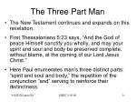 the three part man9