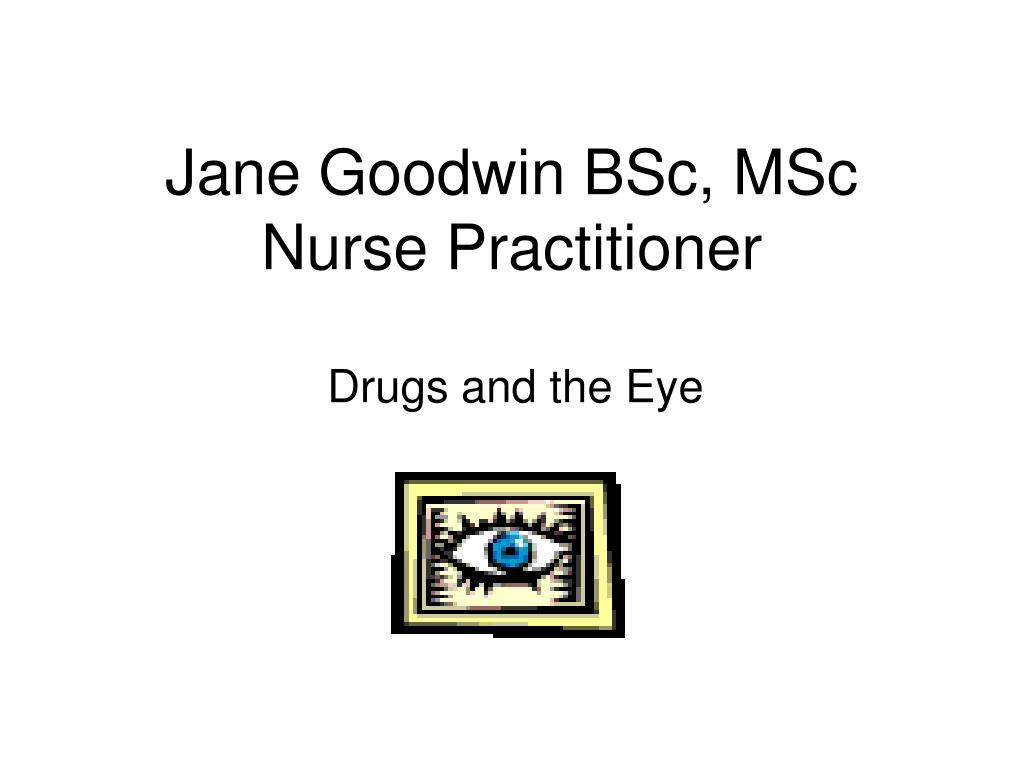 jane goodwin bsc msc nurse practitioner l.