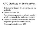otc products for conjunctivitis