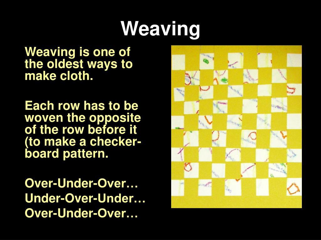 weaving l.