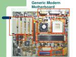 generic modern motherboard