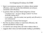 14 4 empirical evidence for emh