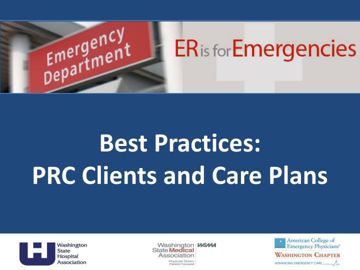 best practices prc clients and care plans n.