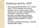 epidemija morbila 2007