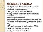 morbili vakcina