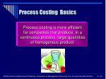 process costing basics