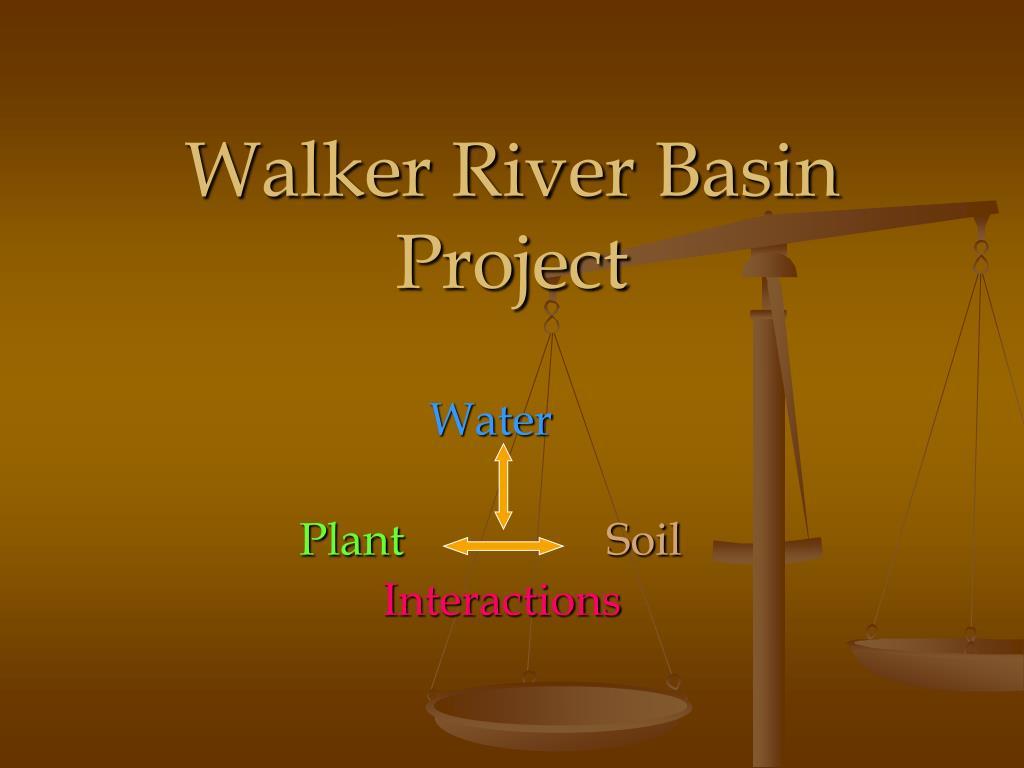 walker river basin project l.
