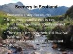 scenery in scotland