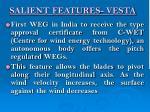 salient features vesta1