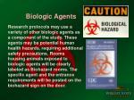biologic agents